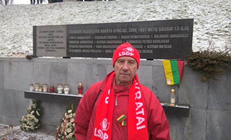 """""""Gyvybės ir mirties keliu"""" bėgo lazdynietis,  Vilniaus socialdemokratas Juozas Kieras"""