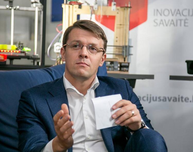 Marius Skarupskas vadovaus Vilniaus miesto konkurencingumo ir inovacijų skatinimo komisijai