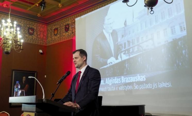 Valdovų rūmuose paminėtos prezidento A. Brazausko inauguracijos metinės
