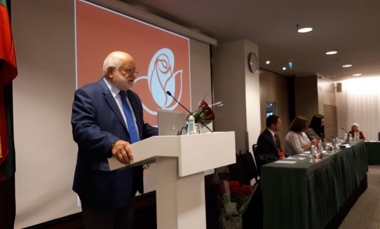 Dr. Algirdui Kunčinui suteiktas Vilniaus miesto skyriaus Garbės pirmininko vardas