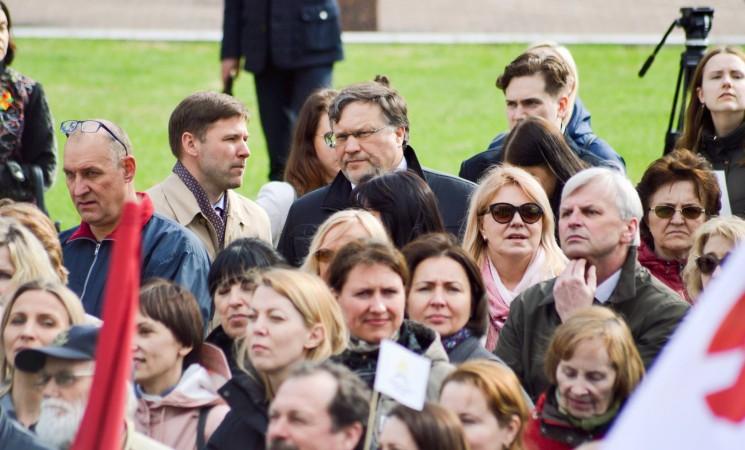Vilniaus socialdemokratai palaiko medikų reikalavimus