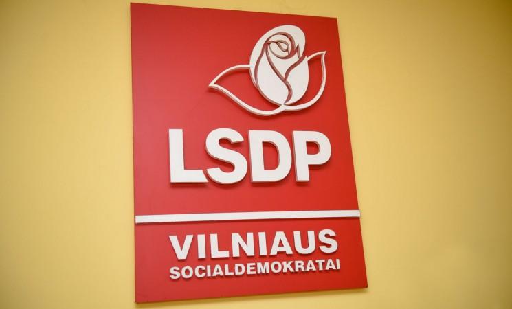 Vilniaus socialdemokratai konferencijoje tvirtins rinkimų programą, apsispręs dėl kandidato į sostinės merus
