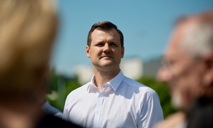 G.Paluckas: kandidatas į prezidentus paaiškės iki rugsėjo pabaigos