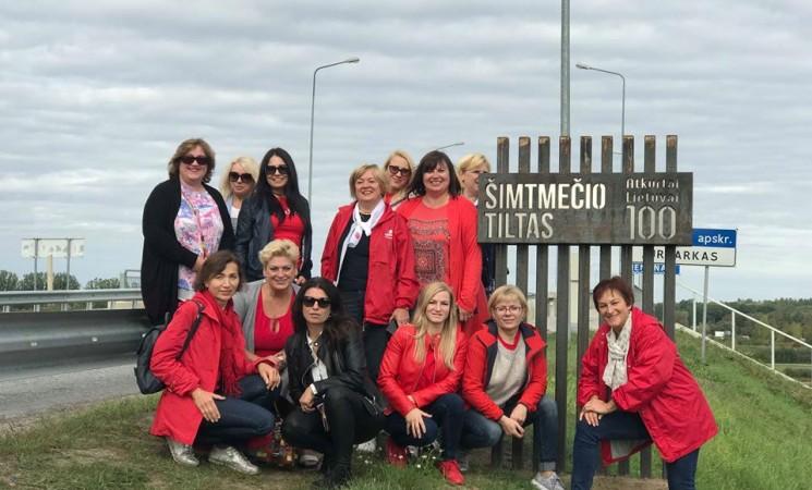 Vilniaus socialdemokračių moterų iššūkis - šimtmečio RALIS 2018