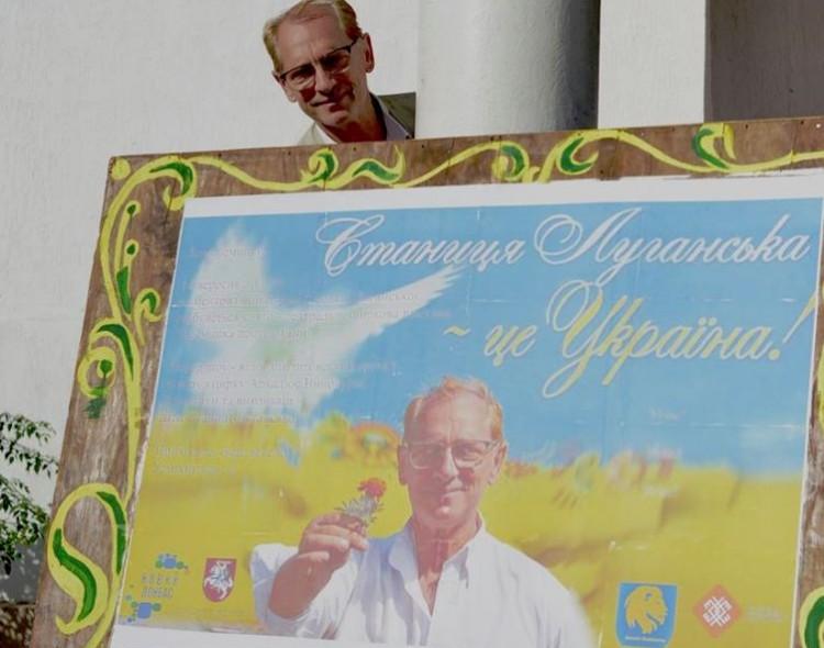 """Arkadijus Vinokuras. Apie projektą """"Šypsena prieš karą"""" Rytų Ukrainoje"""