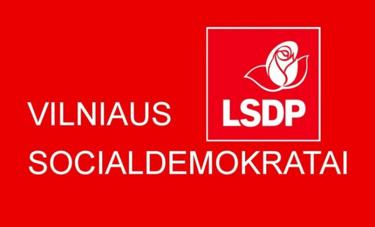 """Vilniaus socialdemokratų programa """"Lygios galimybės ir perspektyvos visiems vilniečiams"""""""