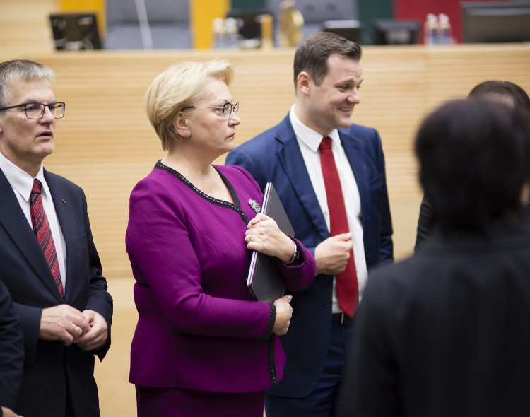 Socialdemokratai: vyriausybė tęsia rinkimų propagandos žanrą