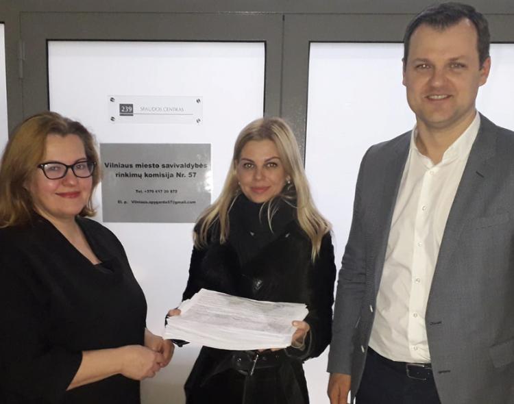 Už Vilniaus socialdemokratų sąrašą surinkti 2944 parašai