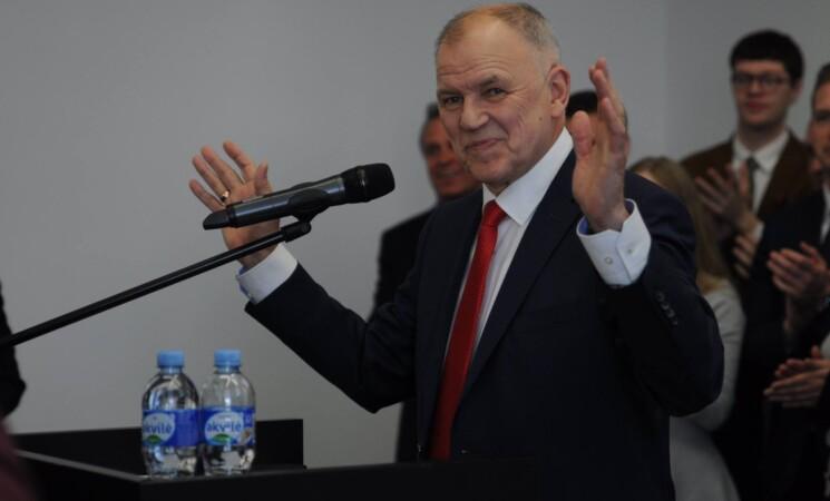 """V. Andriukaitis pristatė rinkimų programą """"Lietuva gali"""""""