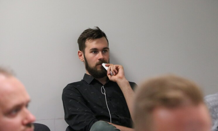 Ruslanas Baranovas: atėjau, kad galėčiau padėti kairiajai politikai paprastuose dalykuose