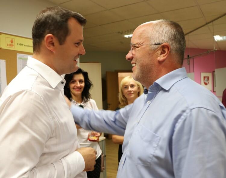Gintautas Paluckas tęs kovą antrame rinkimų ture