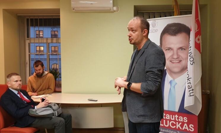 Vilniaus socialdemokratų mokymai. Apie keturias seseris - Lygybę, Teisybę, Pažangą ir Bendrystę