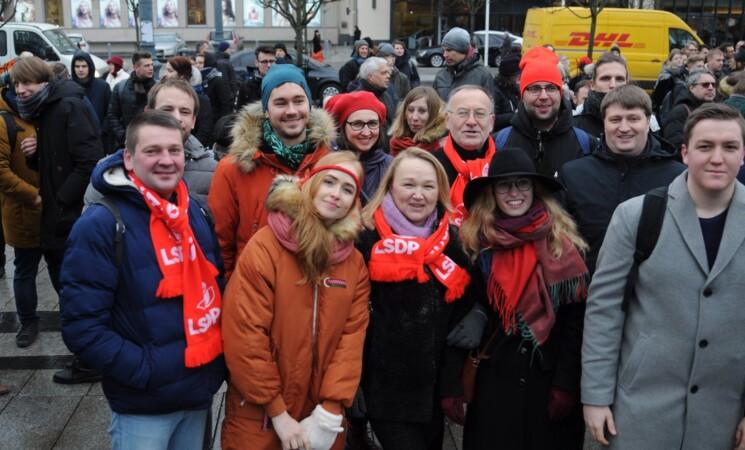 Vilniaus socialdemokratai palaiko teisėtus akademinės bendruomenės reikalavimus