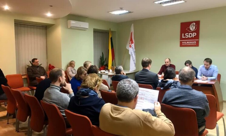 Diskusijos dėl Vilniaus skyriaus struktūros pokyčių tęsiasi