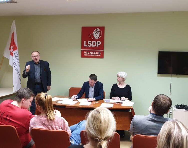 Pradeda veikti Vilniaus miesto skyriaus komisijos