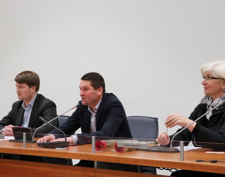 Vilniaus socialdemokratų taryboje - tyrimų analizė ir partijos statybos reikalai