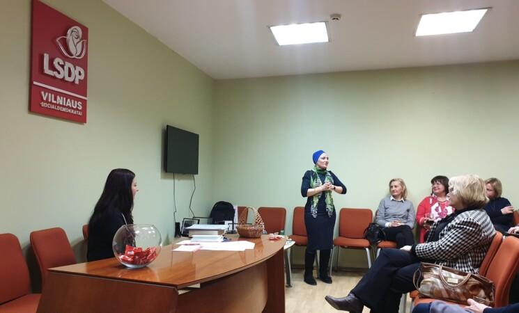 Vilniaus moterų klubas auga
