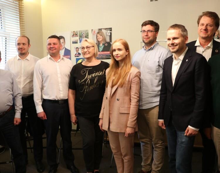 Vilniui ir Lietuvai. Vilniaus socialdemokratai pristatė kandidatus į LR Seimą