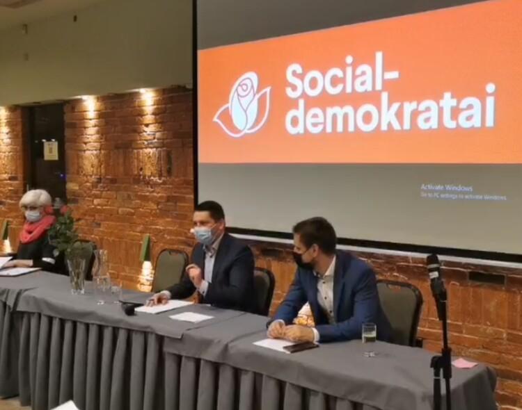 Vilniaus socialdemokratų Tarybos posėdyje - atvirai apie rinkimus