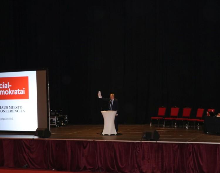 Vilniaus ataskaitinėje rinkiminėje konferencijoje -apie vienybę ir ateitį