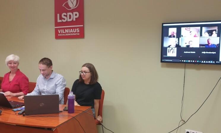Karšta Vilniaus socialdemokratų vasara įsibėgėja: rengiama peticija