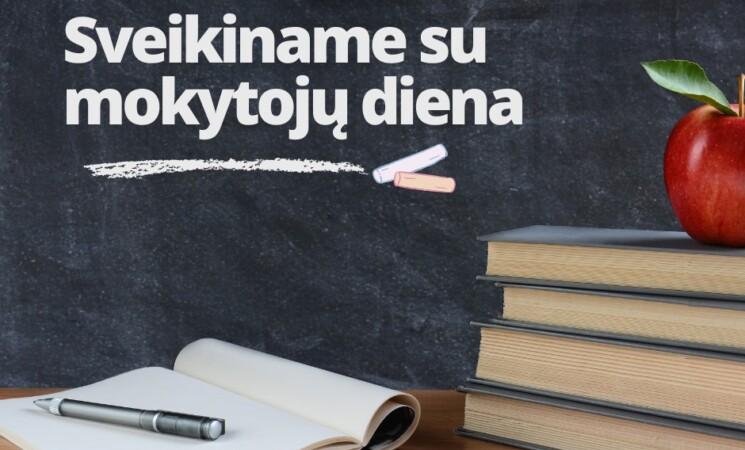Su Mokytojo diena!